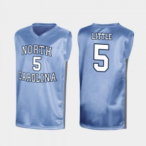 Royal #5 March Madness Nassir Little UNC Jersey Mens Special College Basketball 541068-672