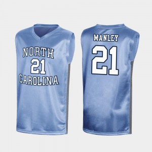 Royal Special College Basketball For Men's Sterling Manley UNC Jersey #21 March Madness 564762-836