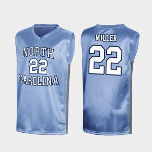Royal Special College Basketball #22 Men's March Madness Walker Miller UNC Jersey 435817-618