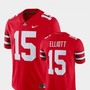 Ezekiel Elliott OSU Jersey #15 Alumni College Limited Football For Men Scarlet 549486-218