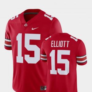 Mens #15 Alumni Football Game Ezekiel Elliott OSU Jersey Scarlet Player 352788-197
