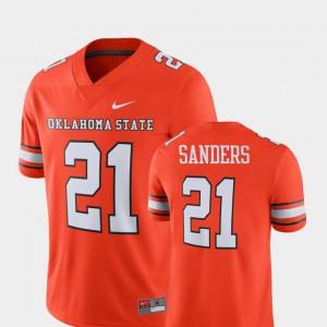 Alumni Football Game Orange Barry Sanders Oklahoma State Jersey Player #21 For Men's 788878-875
