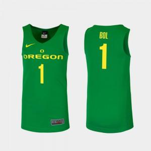 Green College Basketball Replica Bol Bol Oregon Jersey Mens #1 706379-159