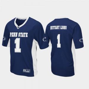 Football Navy Max Power Penn State Jersey #1 Men's 430838-778
