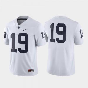 White Penn State Jersey For Men's Game Football #19 782196-639