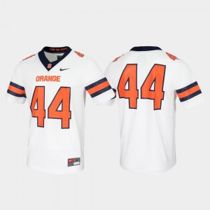 #44 Syracuse Jersey Game For Men Untouchable White 540537-106