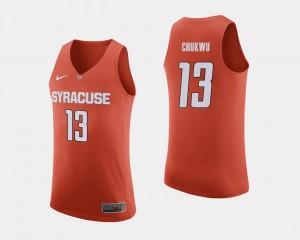 #13 For Men Paschal Chukwu Syracuse Jersey Orange College Basketball 537586-777