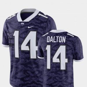 Alumni Football Game Andy Dalton TCU Jersey Men's Purple #14 Player 634617-510