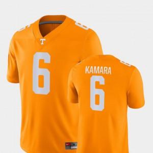College Football Orange Alvin Kamara UT Jersey Game Men #6 460523-968