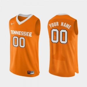 UT Custom Jerseys For Men's Orange College Basketball Authentic Performace #00 661845-269