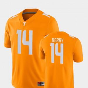 Eric Berry UT Jersey #14 College Football Game Orange For Men's 963003-186