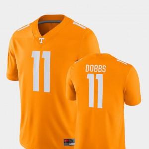 Orange #11 Joshua Dobbs UT Jersey Game College Football Mens 200422-295
