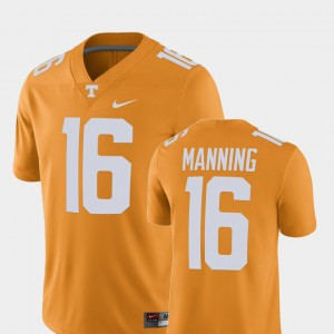 Peyton Manning UT Jersey Alumni Football Game Tennessee Orange Player #16 Men 947516-951
