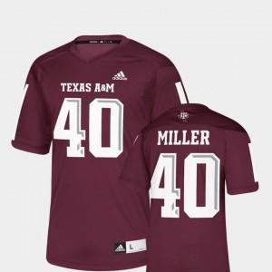 NFLPA Alumni Chase Maroon For Men's Replica Von Miller Texas A&M Jersey #40 131870-651