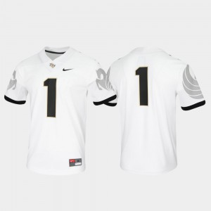 Men Untouchable Game #1 UCF Jersey White 630865-322