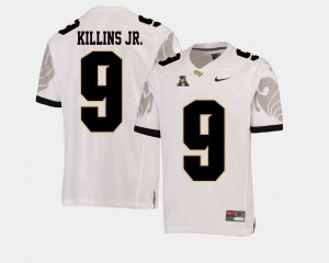 White #9 Men's College Football American Athletic Conference Adrian Killins Jr. UCF Jersey 990188-854