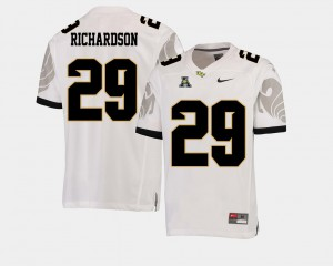 College Football American Athletic Conference Cordarrian Richardson UCF Jersey For Men #29 White 540675-642