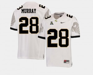 White Men #28 College Football American Athletic Conference Latavius Murray UCF Jersey 593914-670