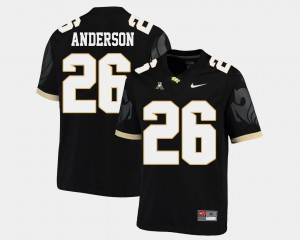 College Football #26 American Athletic Conference Black For Men Otis Anderson UCF Jersey 256028-719