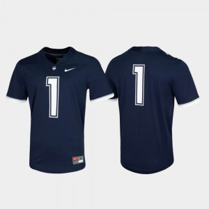 UConn Jersey Untouchable Game Navy Mens #1 363488-207