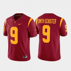 #9 JuJu Smith-Schuster USC Jersey Cardinal Game Mens Alumni Player 462979-801