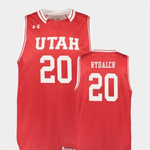 Replica For Men #20 Red Beau Rydalch Utah Jersey College Basketball 690916-775