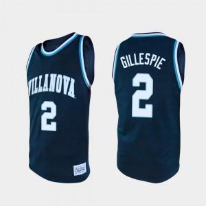 Navy Collin Gillespie Villanova Jersey Alumni College Basketball #2 Men's 493367-392