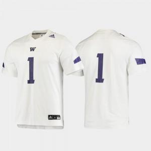 Washington Jersey Replica White Football #1 For Men's 266545-348