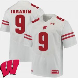 Alumni Football Game White Men's #9 Rachid Ibrahim Wisconsin Jersey 2018 NCAA 633483-246