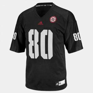 For Men's College Football Kenny Bell Nebraska Jersey #80 Black 516127-373