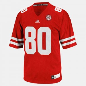 Kenny Bell Nebraska Jersey Men #80 Red College Football 136282-455