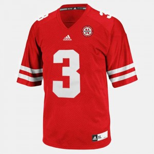 Taylor Martinez Nebraska Jersey Men College Football Red #3 874914-957