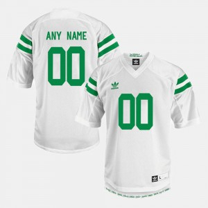 Notre Dame Customized Jerseys College Limited Football #00 Men's White 914133-716