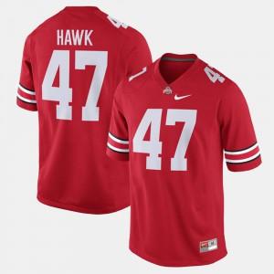 A.J. Hawk OSU Jersey Alumni Football Game #47 Scarlet For Men 568569-628