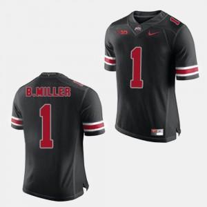 #1 Black Men Braxton Miller OSU Jersey College Football 233086-131