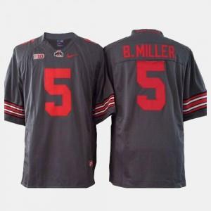 #5 Gray Braxton Miller OSU Jersey Youth College Football 861349-606