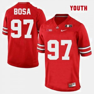 #97 College Football Joey Bosa OSU Jersey Red Youth(Kids) 984361-877