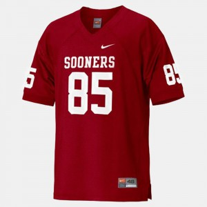 Ryan Broyles OU Jersey Red Youth #85 College Football 370388-431