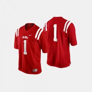 #1 Cardinal Men's College Football Ole Miss Jersey 469938-878