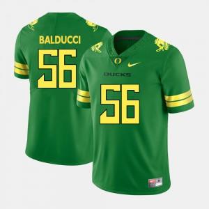 Alex Balducci Oregon Jersey Green #56 Mens College Football 604340-821