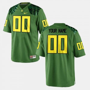 Oregon Customized Jersey #00 College Football Green Men 126846-252