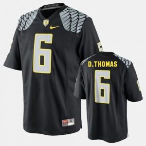 College Football Men De'Anthony Thomas Oregon Jersey #6 Black 166645-812
