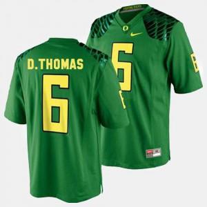 Green #6 College Football For Men De'Anthony Thomas Oregon Jersey 925749-112