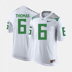 White College Football De'Anthony Thomas Oregon Jersey #6 For Men 689520-561