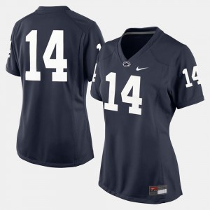 #14 For Women's Navy Blue Penn State Jersey College Football 100978-774