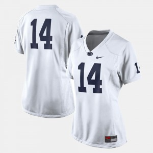 College Football For Women's Penn State Jersey White #14 205516-390