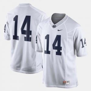 White Men #14 Penn State Jersey College Football 165688-134