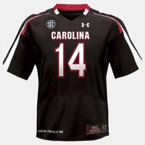 #14 Black Connor Shaw South Carolina Jersey Men College Football 689031-274