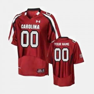 South Carolina Customized Jersey Men's Red #00 College Football 472510-240