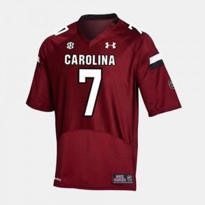 Men's Jadeveon Clowney South Carolina Jersey #7 Red College Football 919137-929
